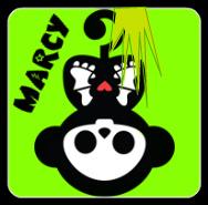 marcy the monkey skelanimals by xLaylarrRAWRx
