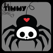 timmy the spider skelanimals by xLaylarrRAWRx