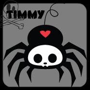 timmy the spider skelanimals by xLaylarrRAWRx