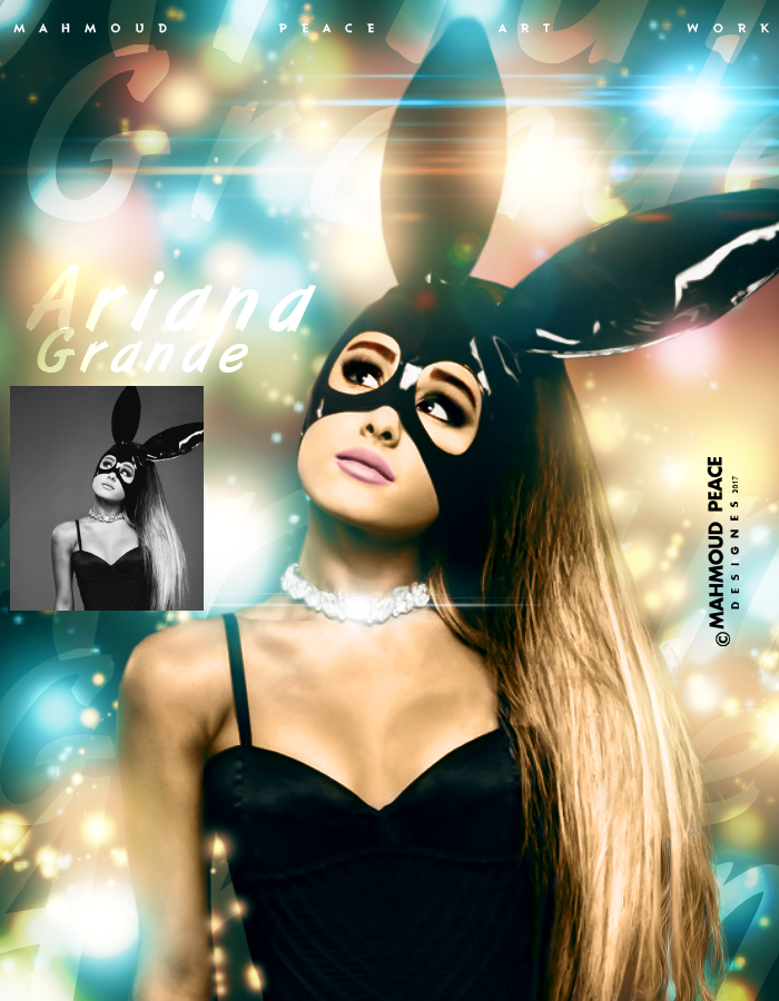Ariana Grande by JUSTMEPEACE