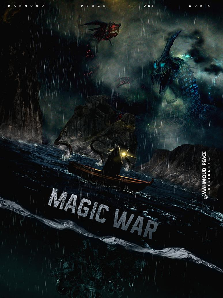 Magic War by JUSTMEPEACE