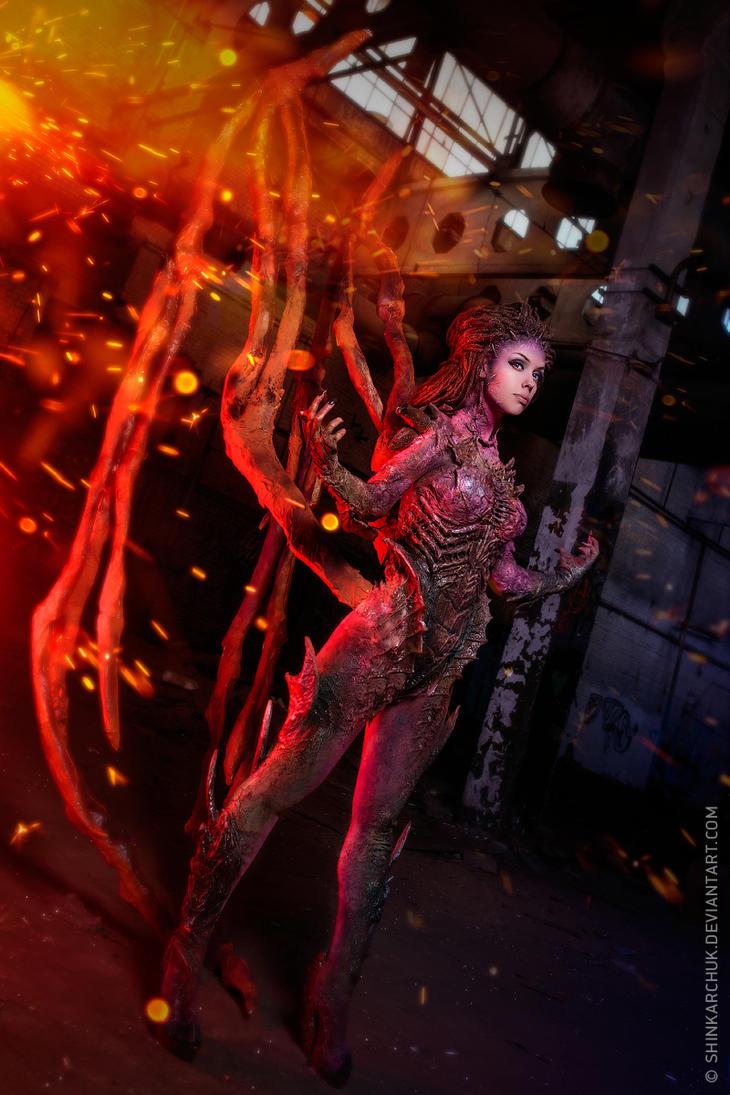 StarCraft II Sarah kerrigan by Shinkarchuk