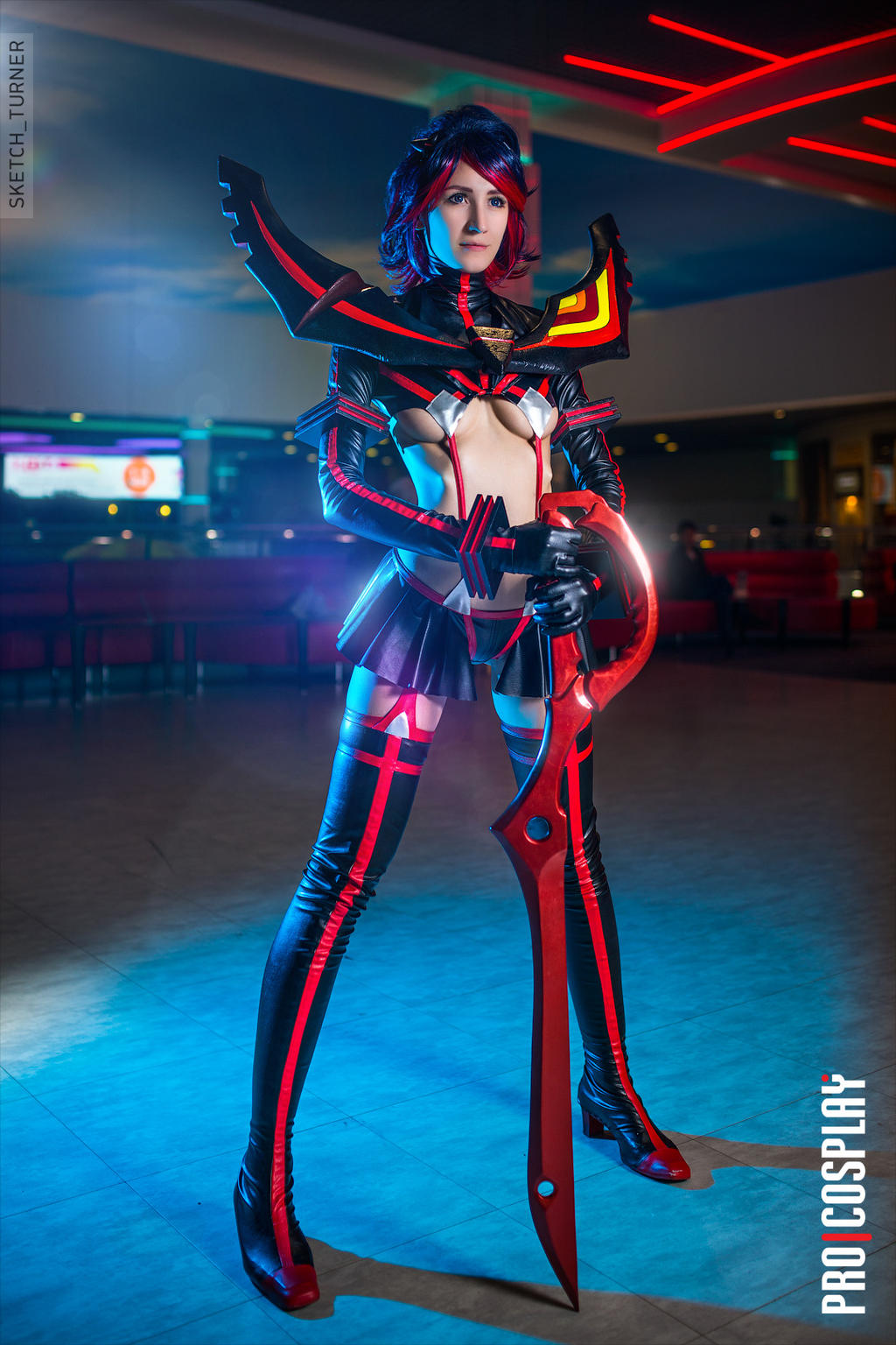 Kill la Kill Ryuko Matoi by Shinkarchuk