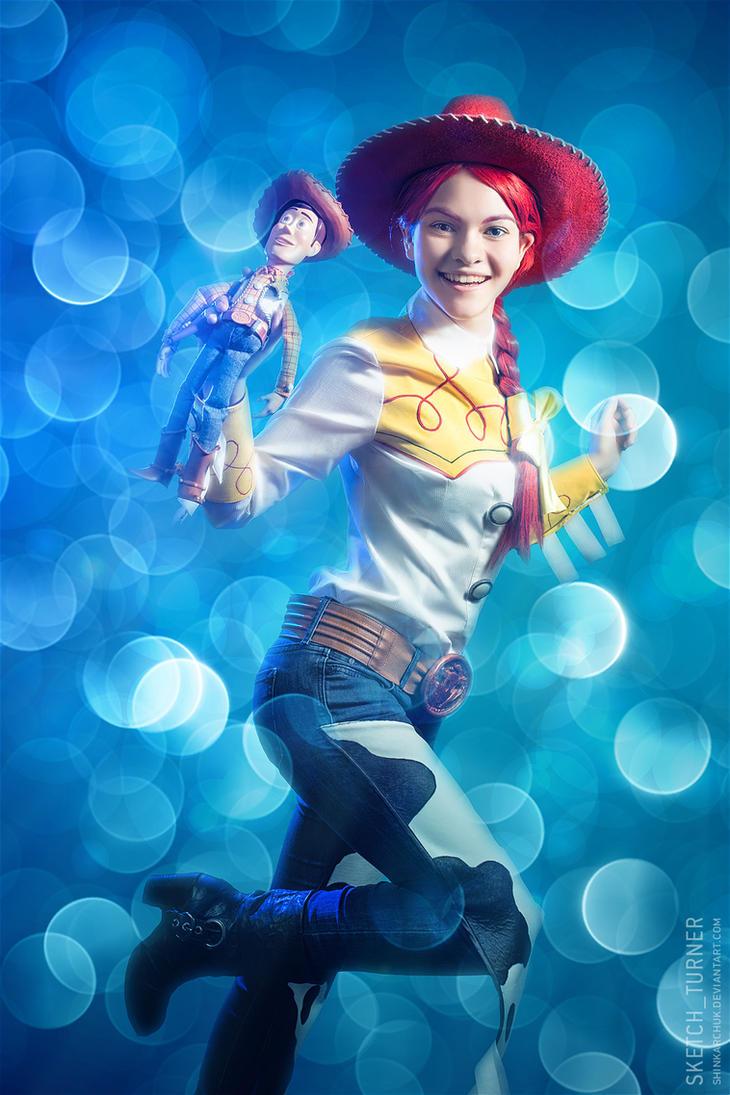 story cosplay Toy jessie
