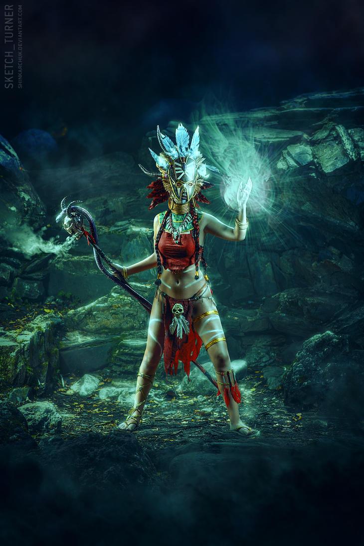Diablo III: Witch Doctor by Shinkarchuk