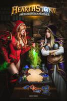Heartstone: Valeera and Jaina by Shinkarchuk
