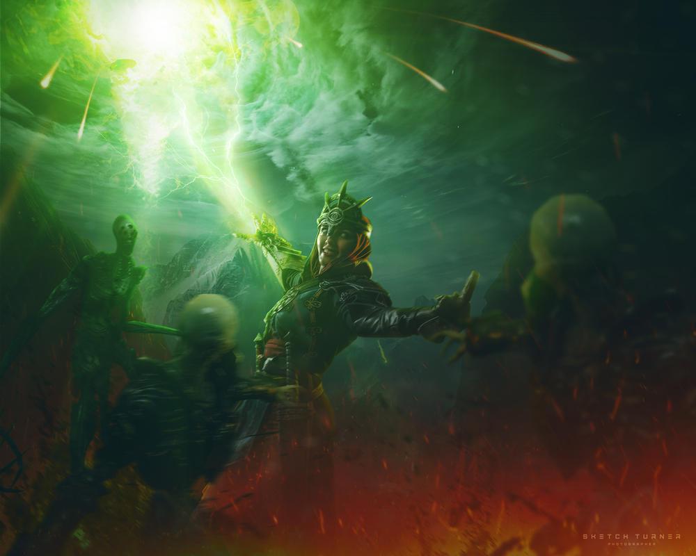 Dragon Age: Inquisition by Shinkarchuk