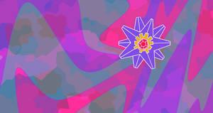 Starmie Psy Lazer Wallpaper by JT-GottaSketchumAll