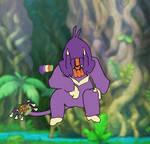 Handril, Aipom Evo --Kaijune Day 23: Beast--