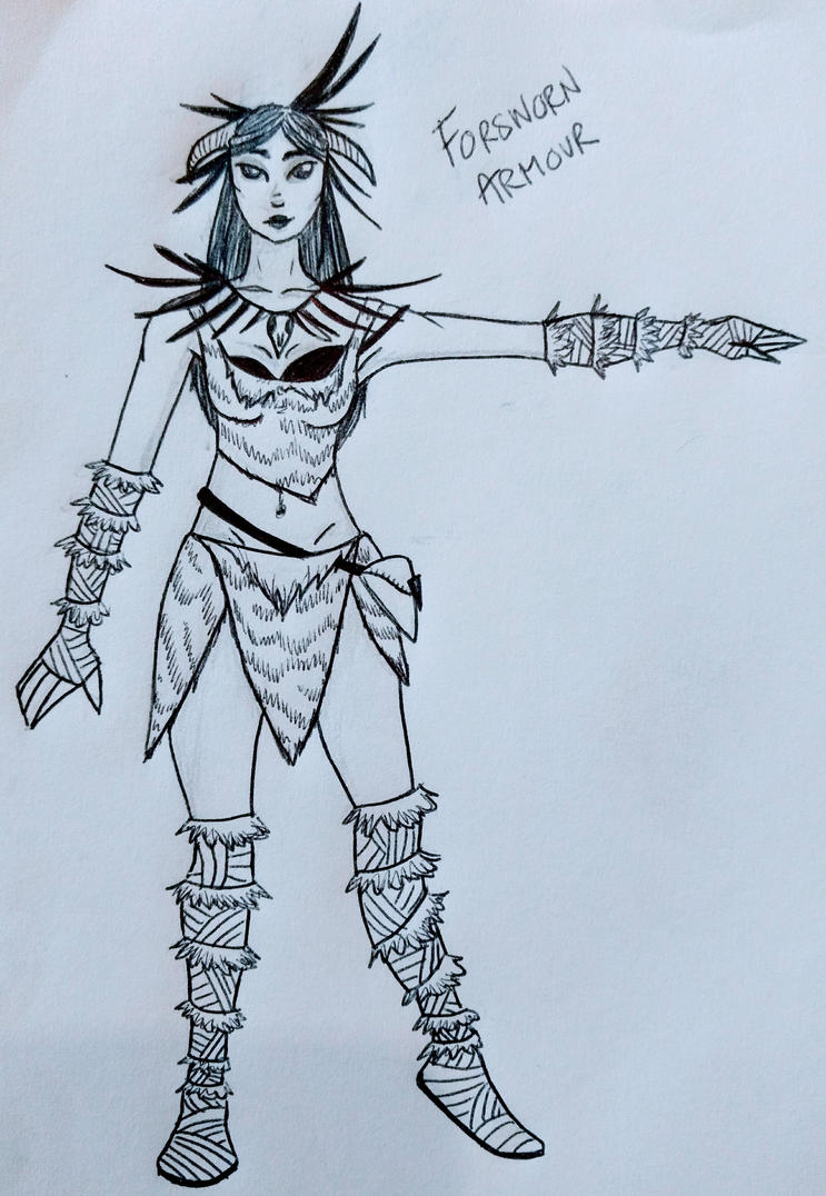 Forsworn Armour by Avajes