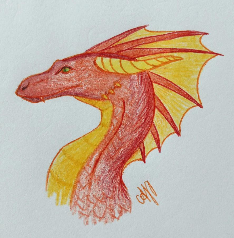 Fire Drake by Avajes