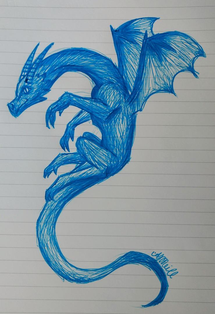 Blue Dragon by Avajes