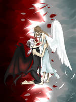 Love Between An Angel And A Demon