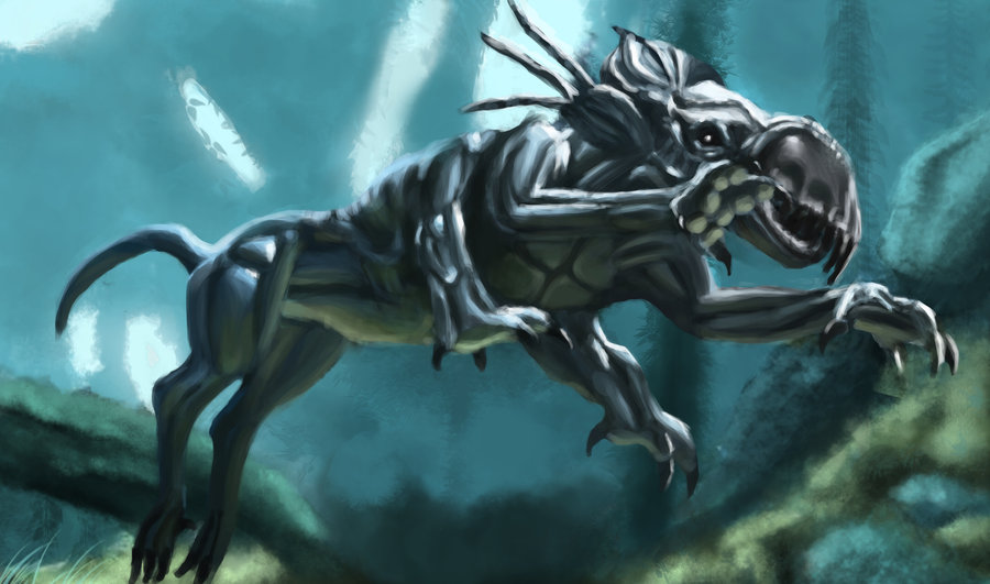 Six-legged panther Thanator from James Cameron's Avatar