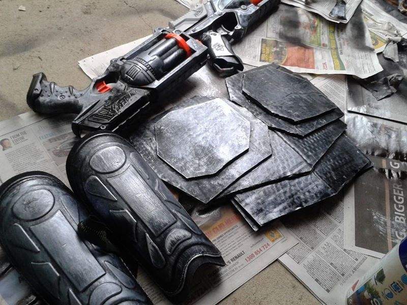 is Hired Gun Lucian White Hired Gun Lucian Cosplay Props