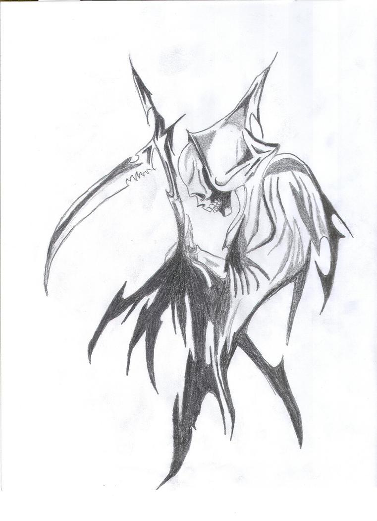 Tribal Grim Reaper by mj4G1 on DeviantArt