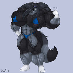 Fem Wolf Gender Change by D12-iZoroark