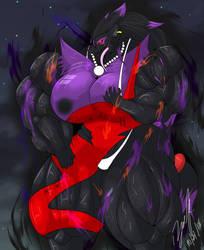 Mia the evolved Zoroark by D12-iZoroark