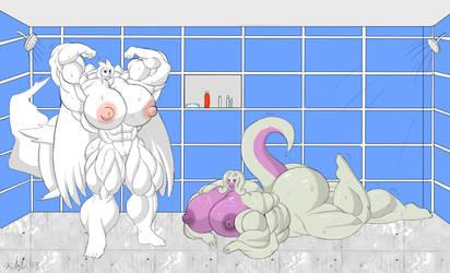 Friendly Shower by D12-iZoroark