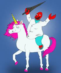 Zoidberg on a Unicorn 12-08-2013