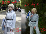 Before-After Finland cosplay!
