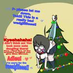 Ultra Christmas Despair Hanging Wedgie