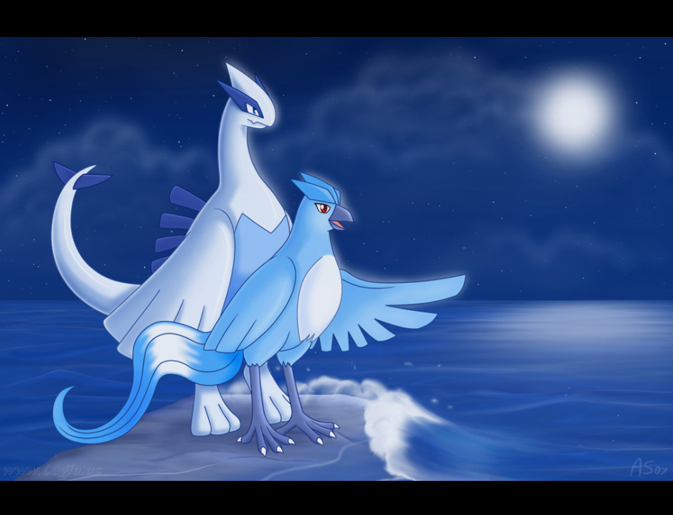 Wave Watching by Articuno