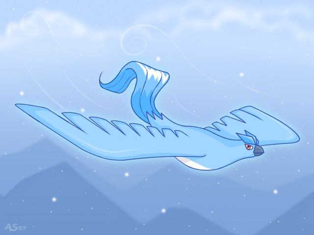 Articuno Flying by Articuno