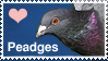Love Peadges Stamp by Articuno