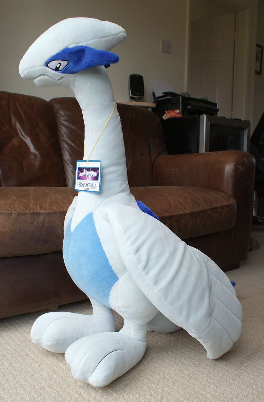 Giant Lugia Plush for Sale! by Articuno on DeviantArt