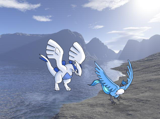 My Land And Lugia by Articuno