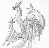 Another Feathered Lugia by Articuno