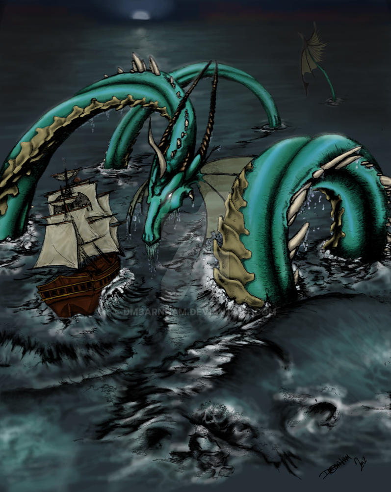 OC Ominiue: Matourius the Lord of the Seas by dmbarnham
