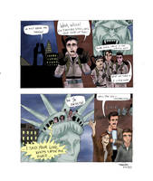 ELP Ghostbusters Save the Day by dmbarnham