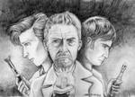 Day of the Doctor: the Three Doctors (Pencils)