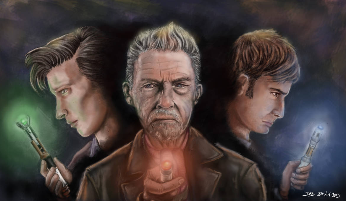 The Day of the Doctor: The Three Doctors by dmbarnham