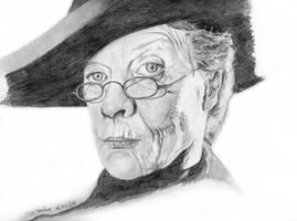 Professor Minerva McGonagall - Maggie Smith by dmbarnham