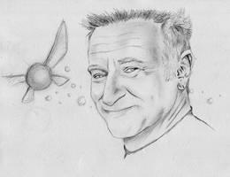 RIP Robin Williams by dmbarnham