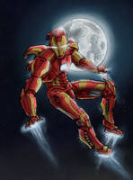 Ironman by dmbarnham