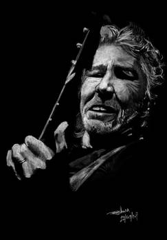 Roger Waters Bassing it