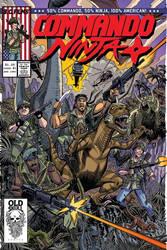 Commando ninja cover by LURURINU