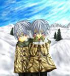 Childhood among snow by 4zu