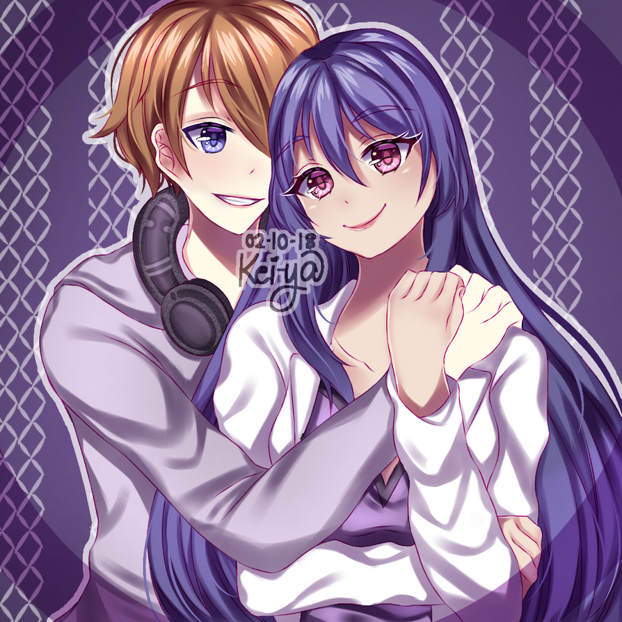 [Request] Caleb and Aki Nijou by KeiyaKairana