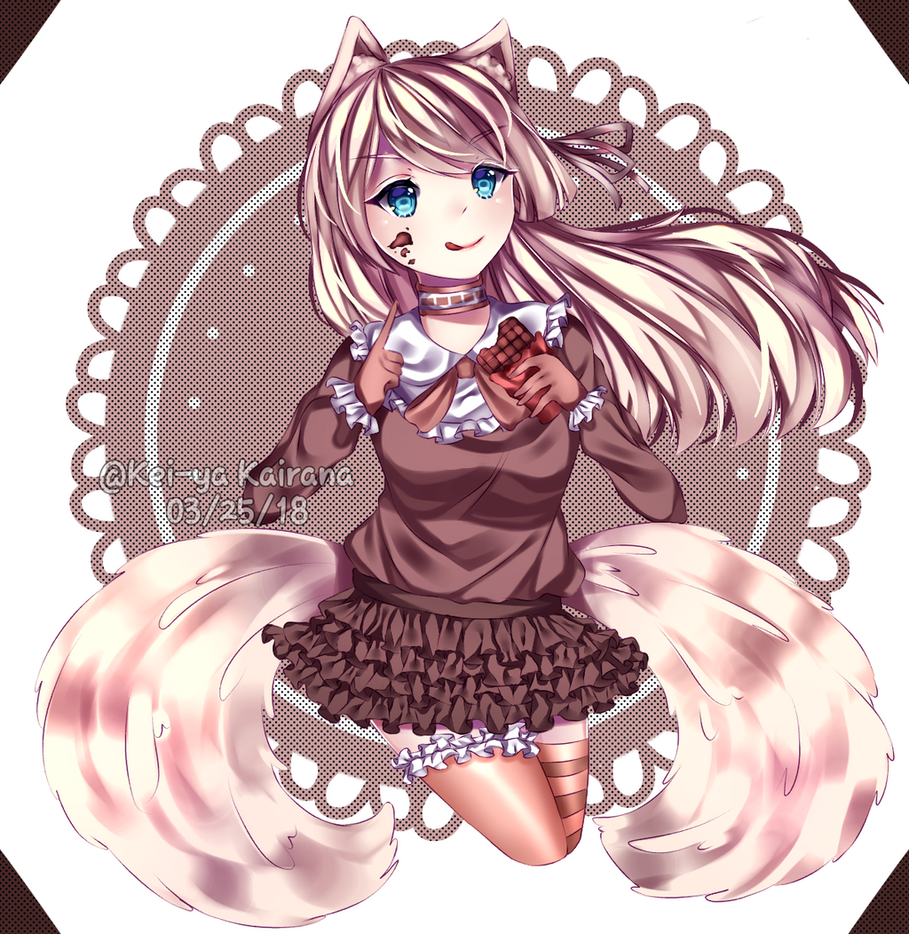 [Art Trade] Ai Chan by KeiyaKairana
