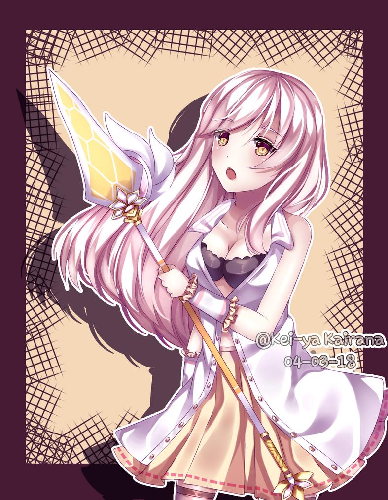 [Art Trade] Hana by KeiyaKairana