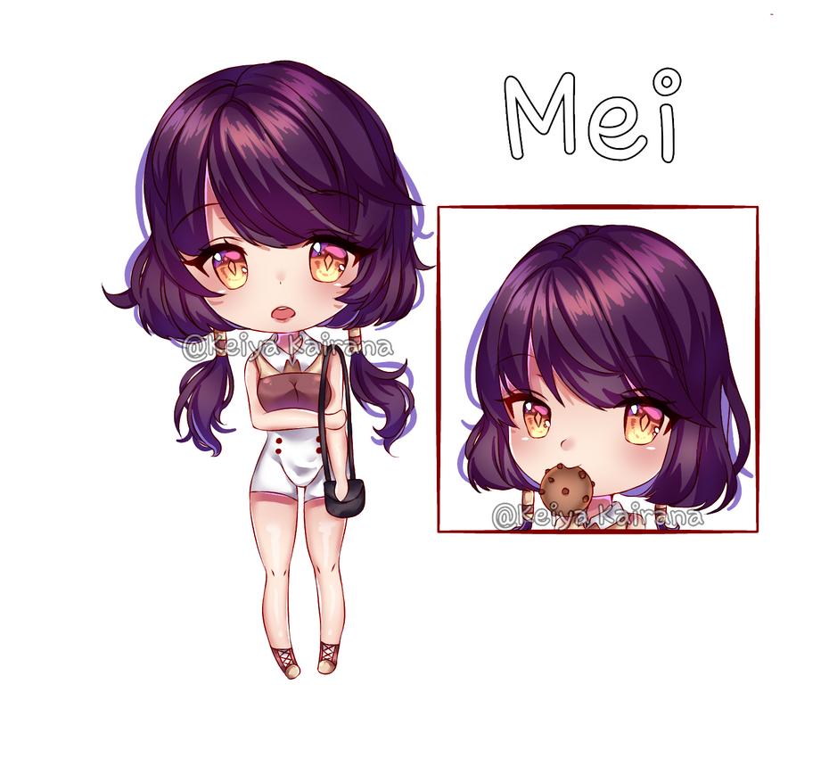 [OC] Mei by KeiyaKairana