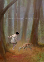 the fawn by Izaskun