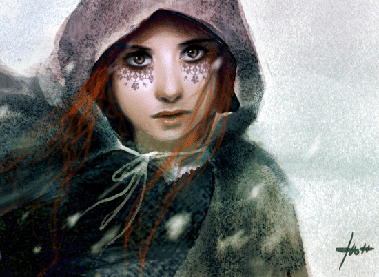 the snowwitch by Izaskun