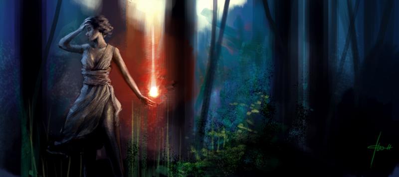 j'ai perdu le chemin by Izaskun