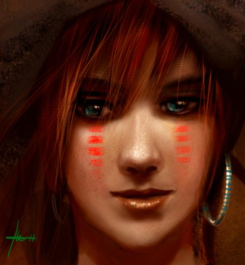 baone - a piratechick by Izaskun